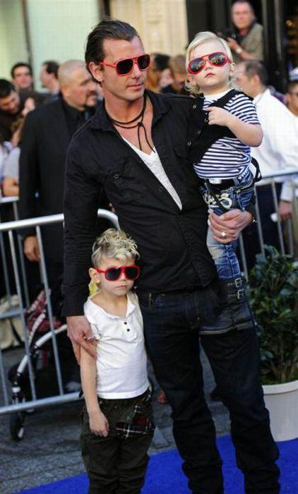 Звезды и их дети (35 фото)