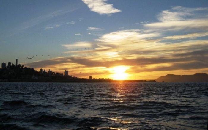 Красивые фотографии восходов и закатов (20 Фото)