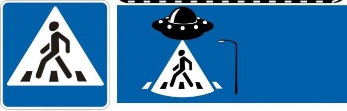 Расширенный взгляд на дорожные знаки (10 фото)