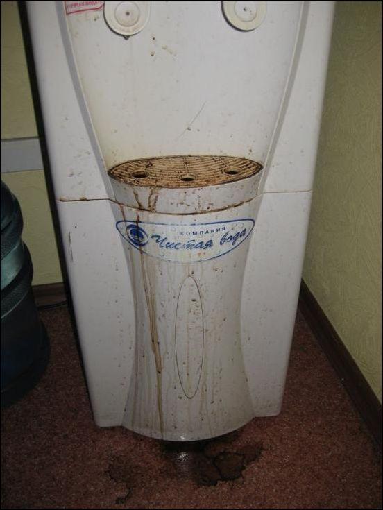 Офисный охладитель воды (3 фото)