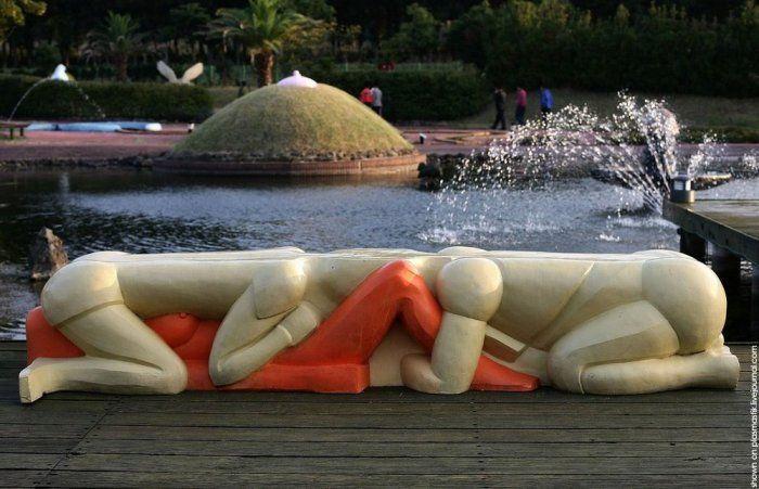 "Парк в Корее ""Земля любви"" (30 фото)"
