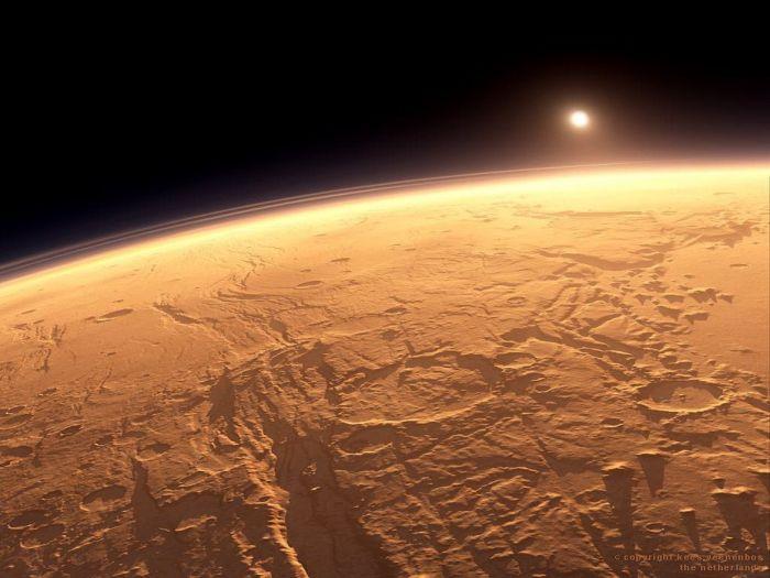 Потрясающие фотографии Марса (47 фото)