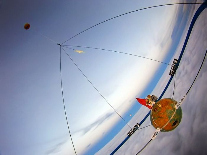 Запуск шара-зонда (21 фото)