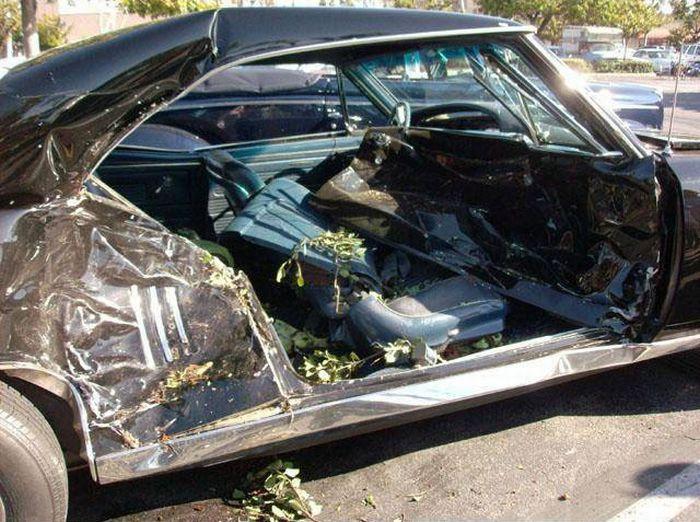 Как превратить раритетное авто в кучу хлама (11 фото)