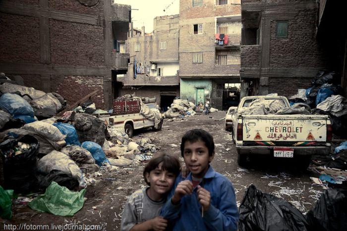 Горы мусора Египта (45 фото)