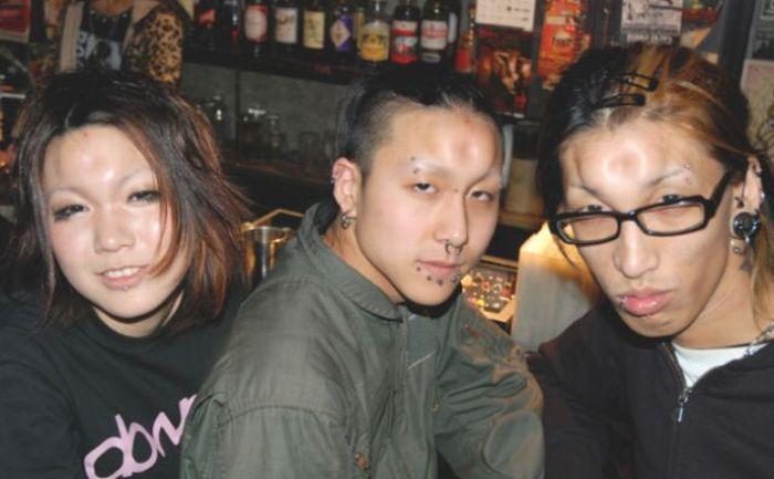 Трансформация японских подростков (8 фото)