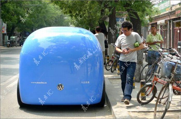 Volkswagen - авто для Китая (10 фото)