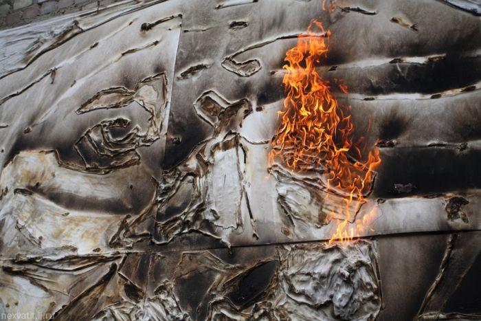 Выжженные портреты (30 фото)