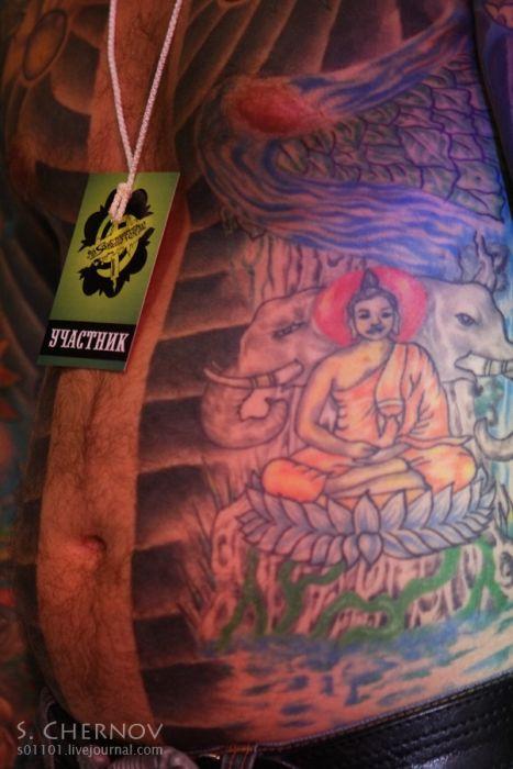 Фестиваль мастеров татуировки в Санкт-Петербурге (25 фото)