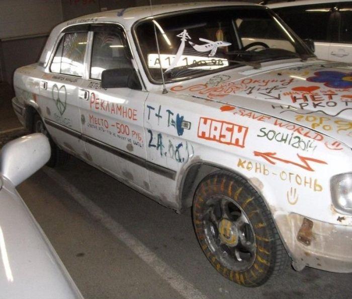 Роскошный автомобиль (4 фото)