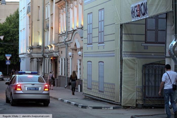 Жизнь московских гастарбайтеров (22 фото)