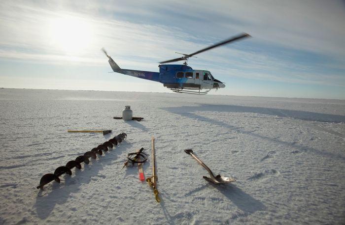 Исследовательская база в Арктике (22 фото)