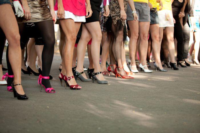 Забег на каблуках в Таллине (41 фото)