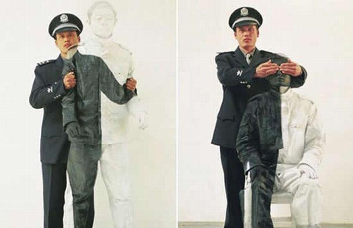Человек-невидимка Лю Болин (61 фото)