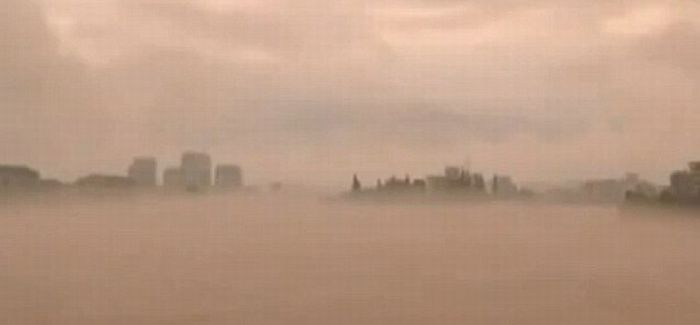 Удивительный мираж (4 фото + 2 видео)