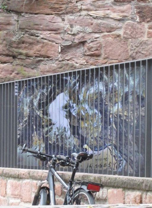 Иллюзия на заграждениях (17 фото)