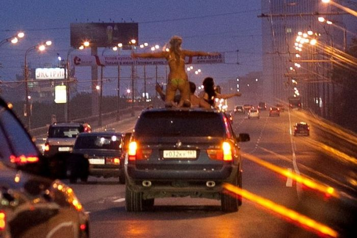 По ночной Москве (5 фото)