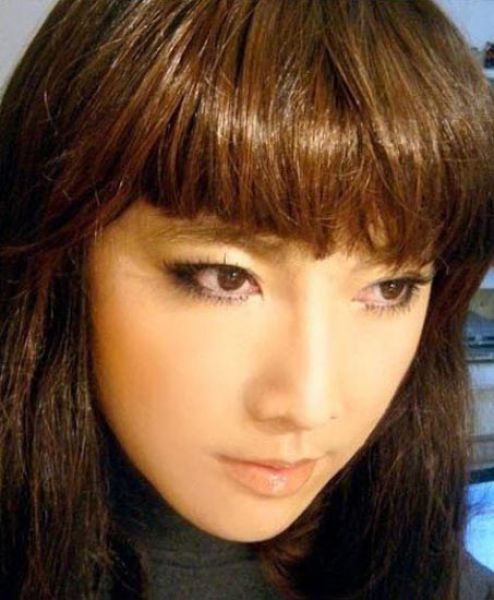 Милая азиатка (9 фото)