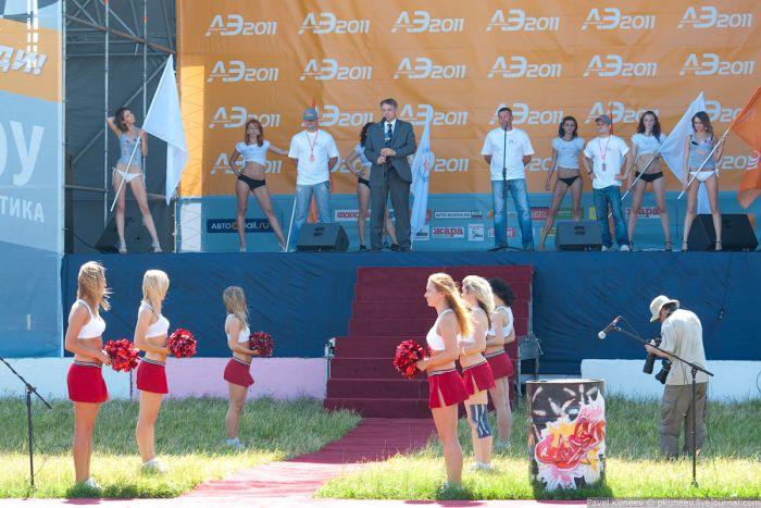 С АвтоЭкзотики 2011 ) 15-е юбилейное шоу стартовало в пятницу на …