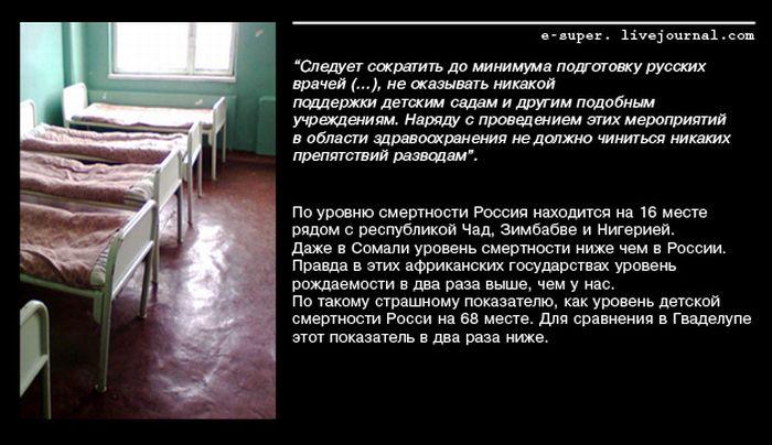 План «Ост» пособие по геноциду народов СССР, России, РФ.