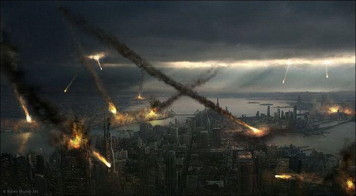 Сногсшибательные рисунки апокалипсиса (36 Фото)