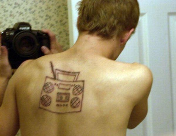 Самые неудачные татуировки (31 фото)
