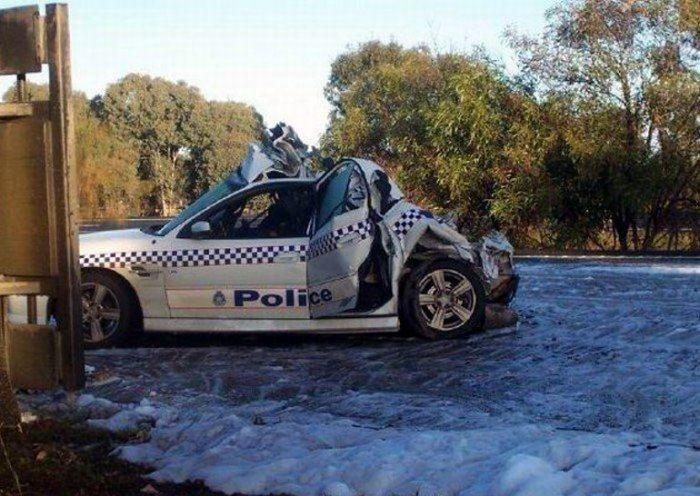 Полицейский автомобиль Holden SS Commodore (4 фото)