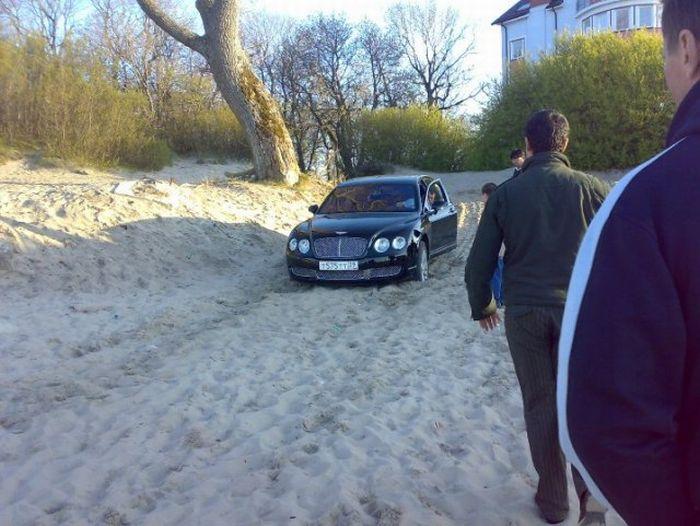 Понты на Bentley (7 фото)