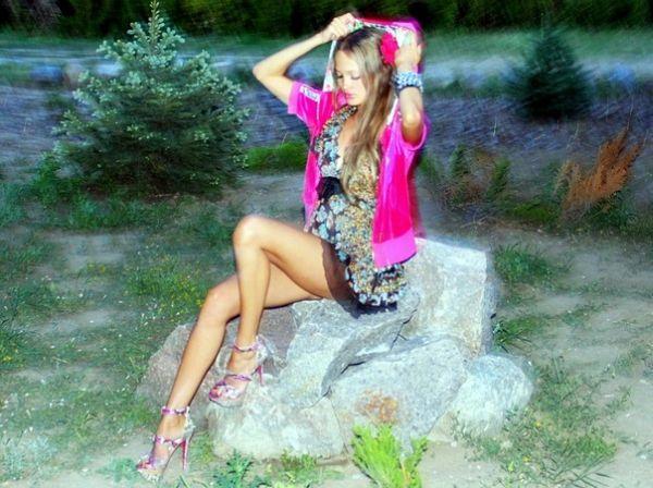 Кисоклассница Леся (50 фото)