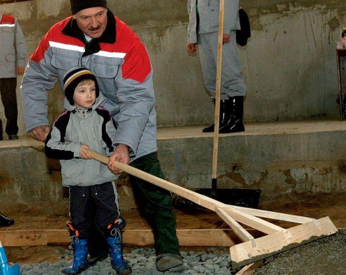 Сын президента Белоруссии - Коля Лукашенко (10 фото)