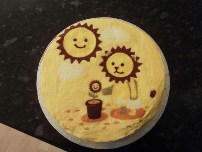 Классные торты и пирожные (96 фото)