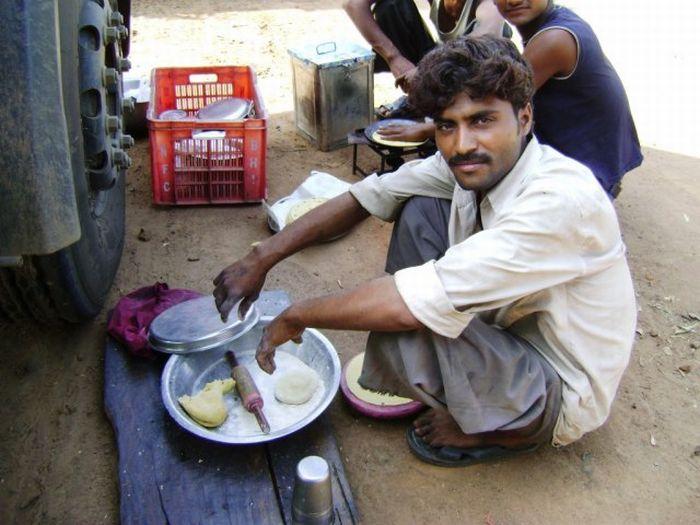 Индийские механизаторы и дальнобойщики (30 фото)