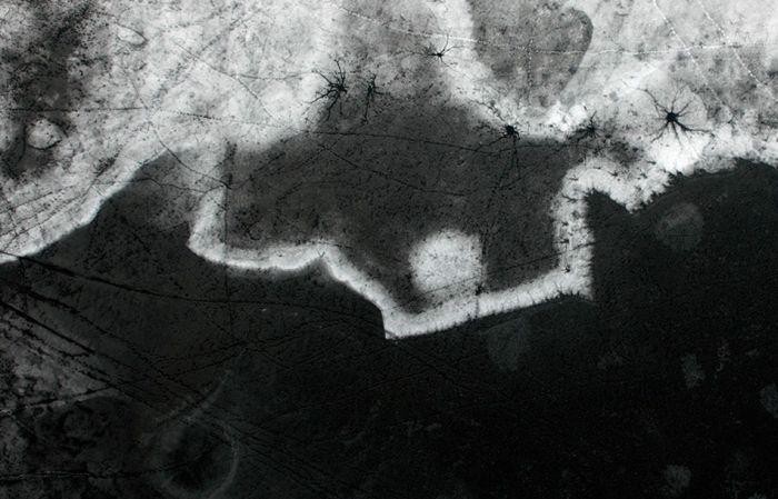 Зимние фотографии с высоты птичьего полета (38 фото)