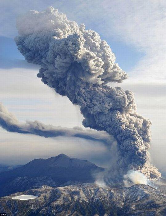 Завораживающие фотографии вулканов (100 фото)