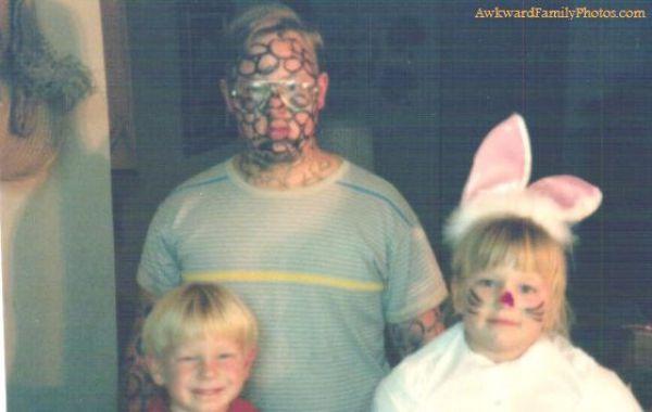 Смешные и странные семейные фотографии (50 фото)