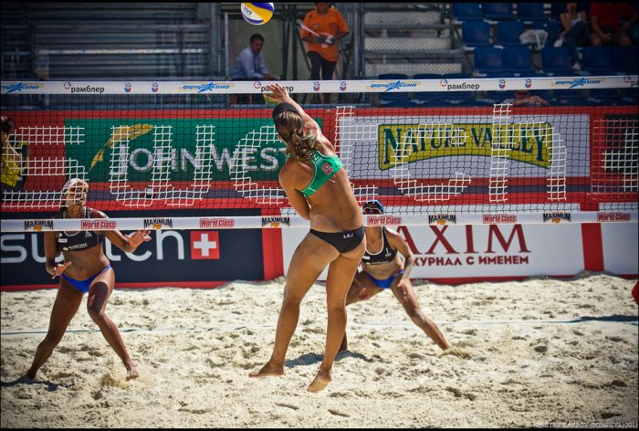 Пляжный волейбол (19 фото)