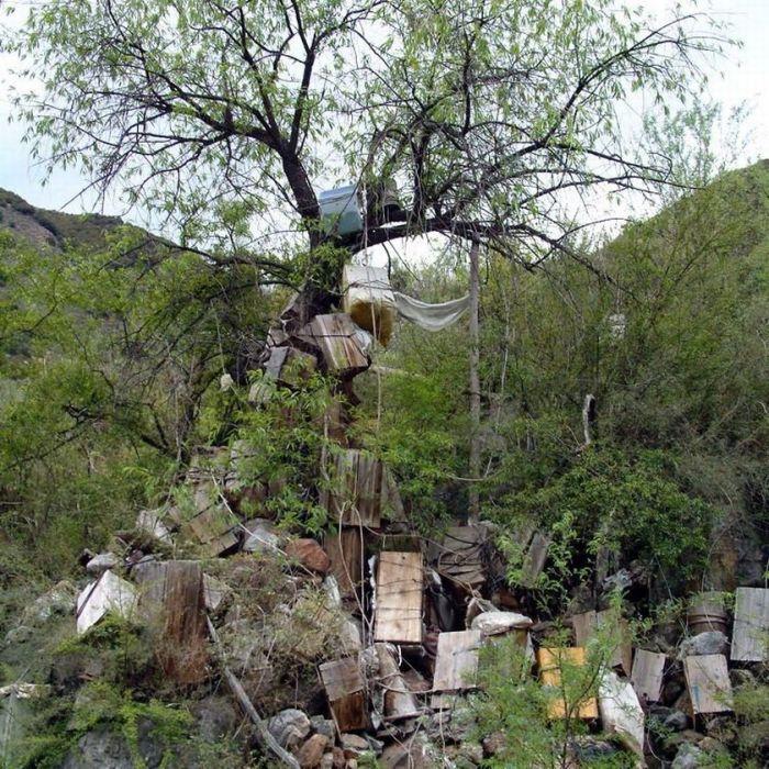 Похороны детей в Тибете (12 фото)