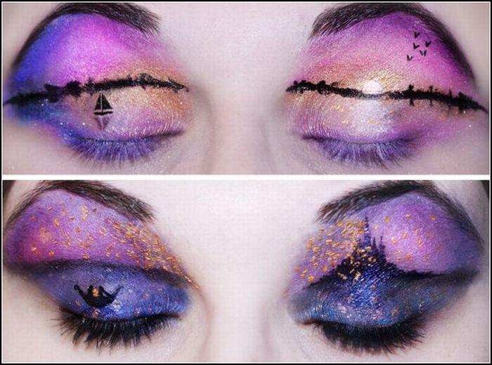 Удивительный и креативный макияж от Кэти Алвес (9 Фото)