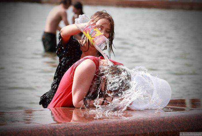 Водная битва в Москве (128 фото)