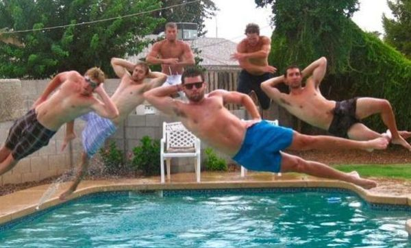 Правильная фотография у бассейна (49 фото)