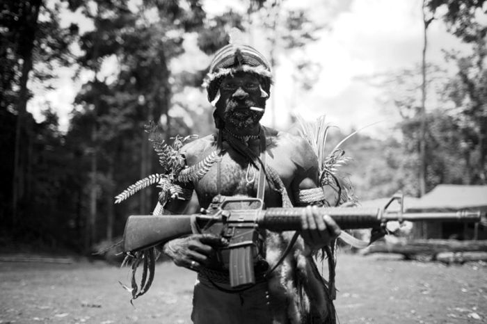Повстанцы в Западном Папуа (8 фото)