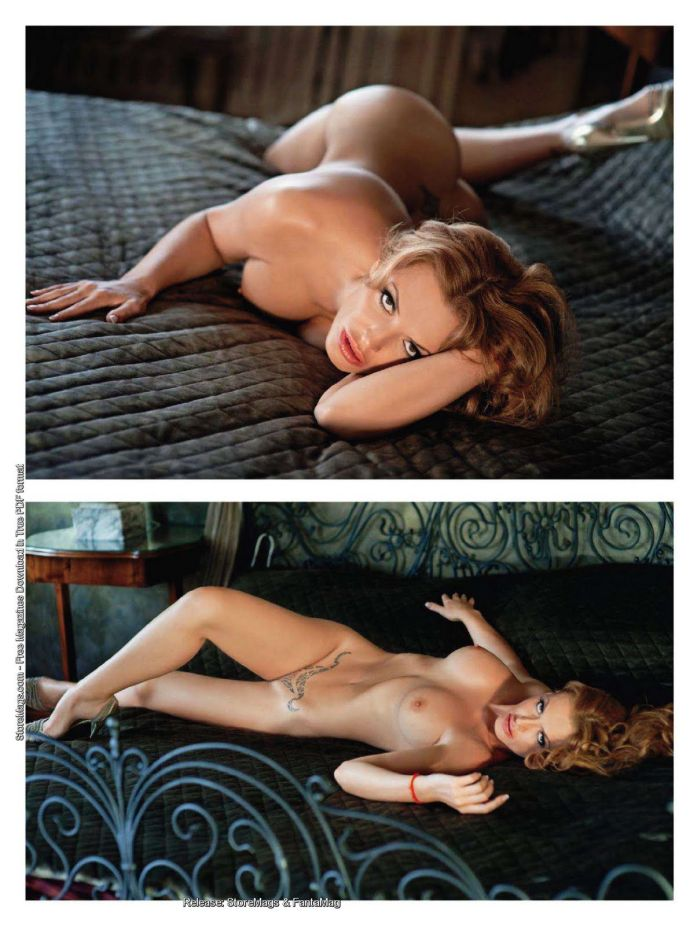 Playboy с обнаженной Ольгой Родионовой (11 фото)