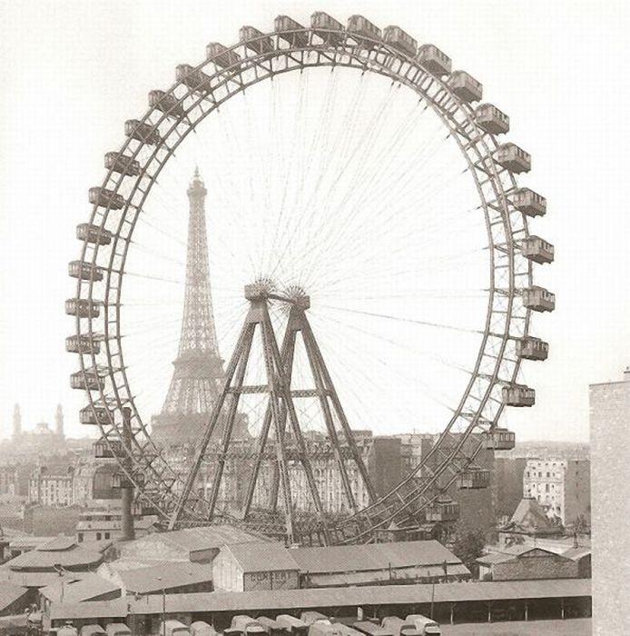 Ретро-фотографии Парижа (30 фото)