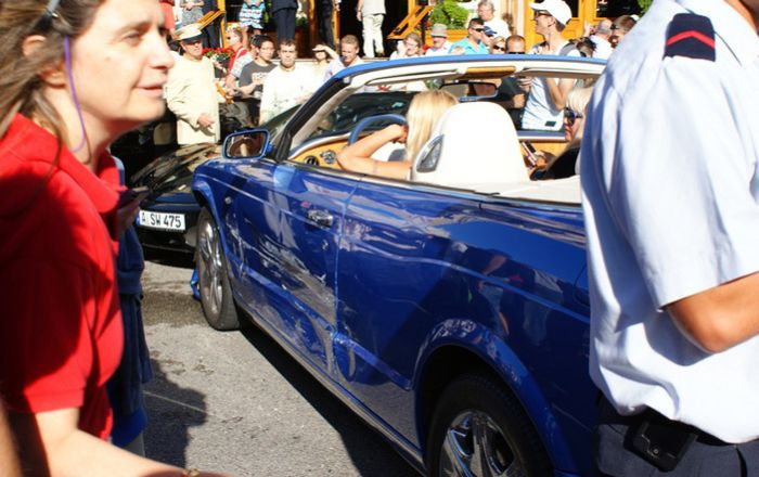 VIP-авария в Монако (9 фото)