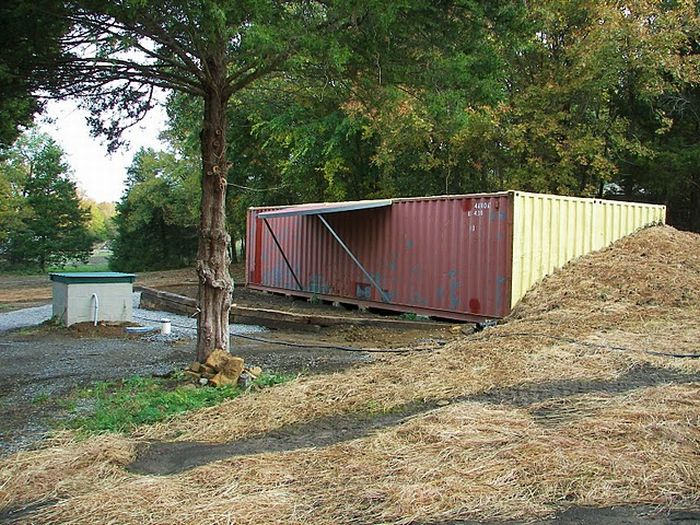 Как сделать дом из контейнера фото 817