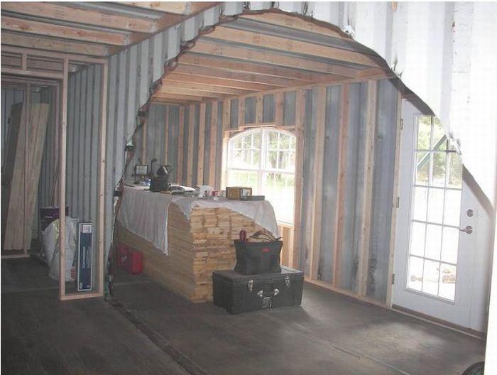 Как построить дом из контейнера (134 фото)