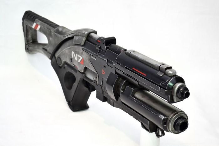 Пушка из Mass Effect 3 (9 фото)