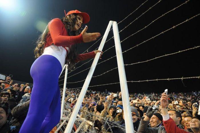 Девушки с Турнира Копа Америка (48 фото)