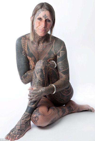 Татуировка во все тело (7 фото)