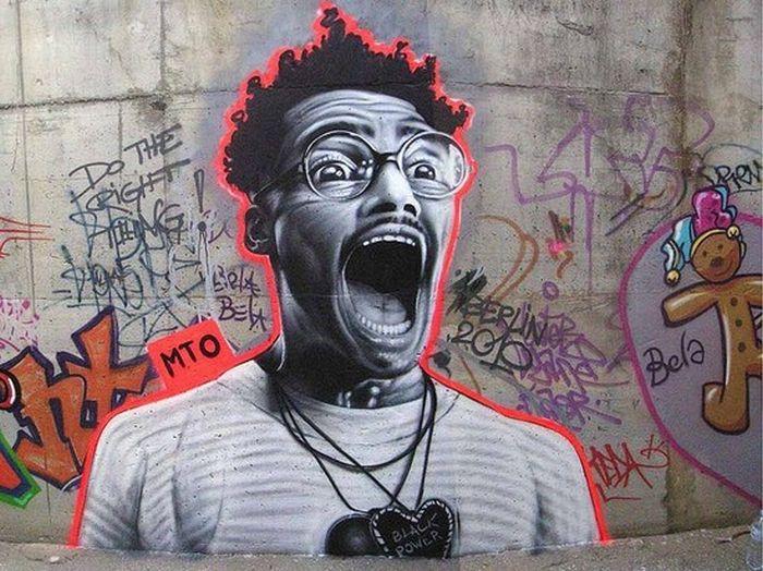 Удивительные уличные портреты (21 фото)